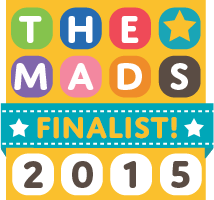 Leelee Loves, Mad Blog Award Finalist 2015