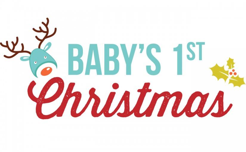 babys 1st christmas linky 2