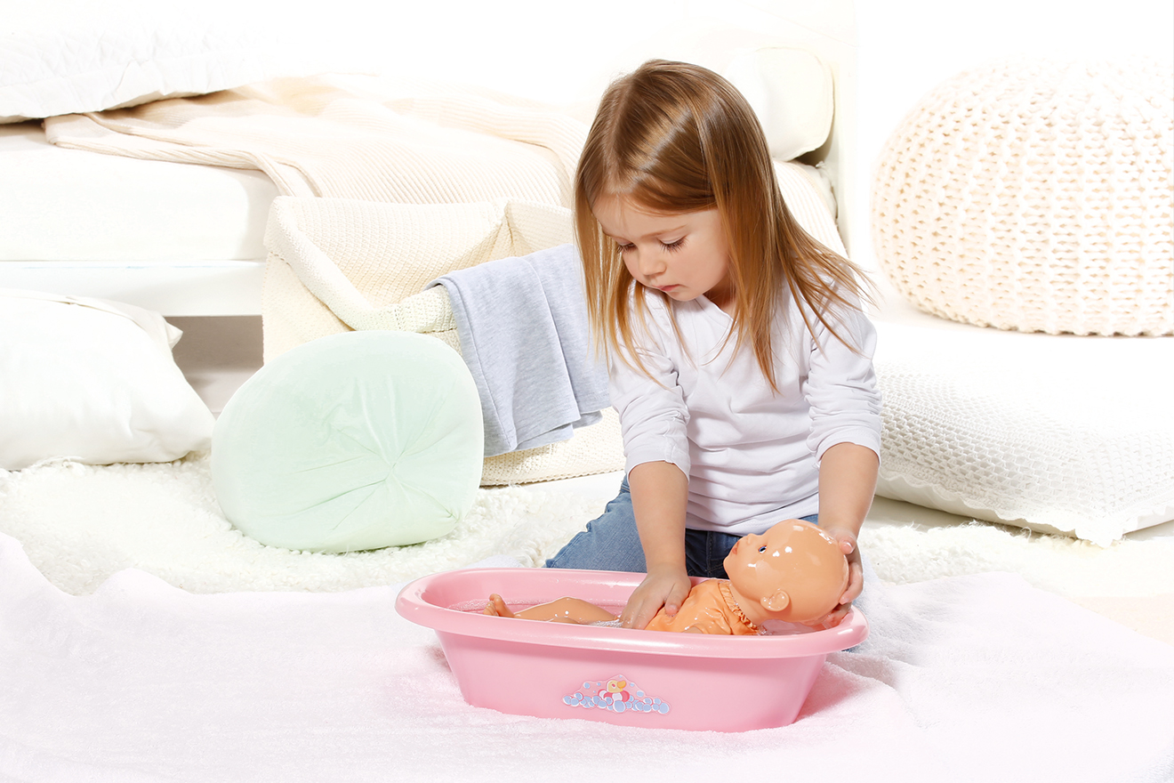 win a my little baby born bathing fun doll leelee loves. Black Bedroom Furniture Sets. Home Design Ideas