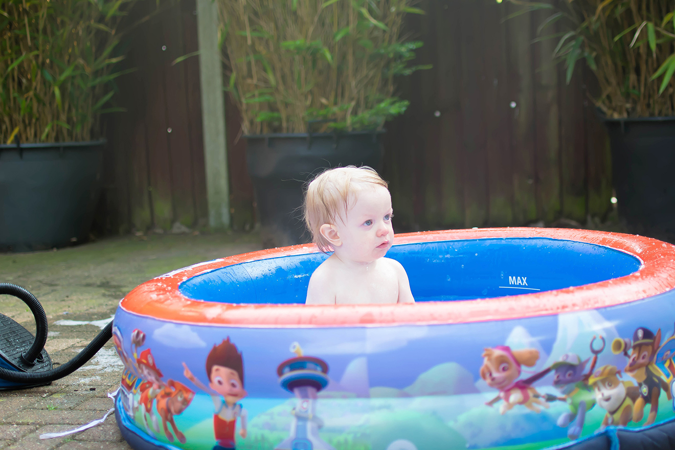 Summer fun with Bubble Tub! - Leelee Loves