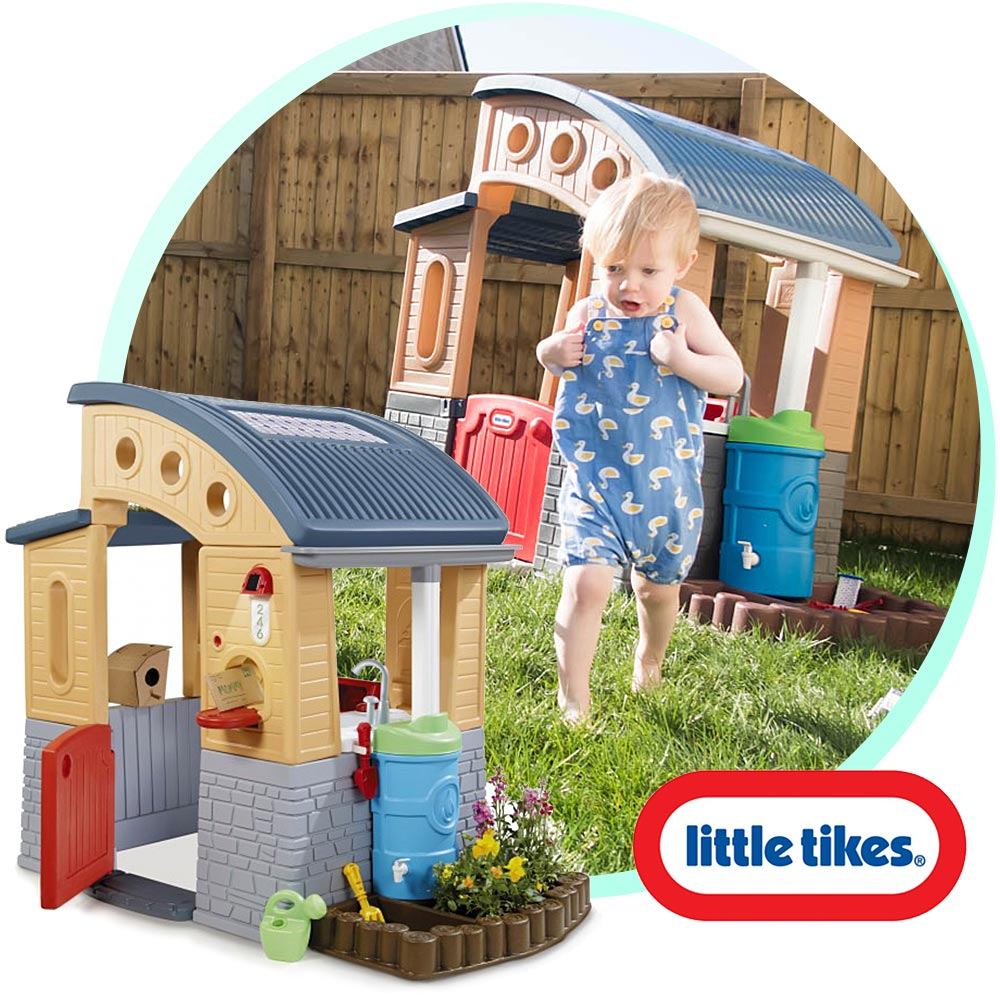 Eco Friendly Fun with The Go Green Playhouse from Little Tikes