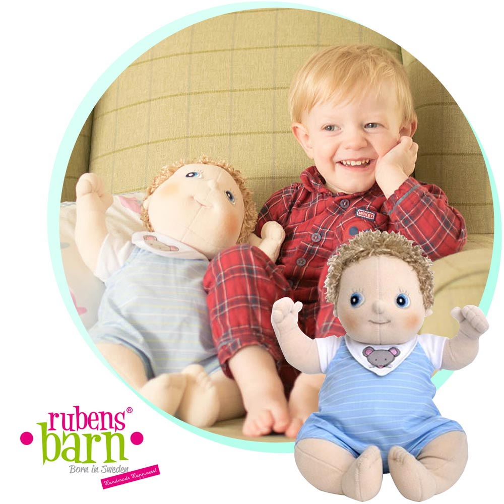 Yes, my son plays with dolls - Our Rubens Barn Story