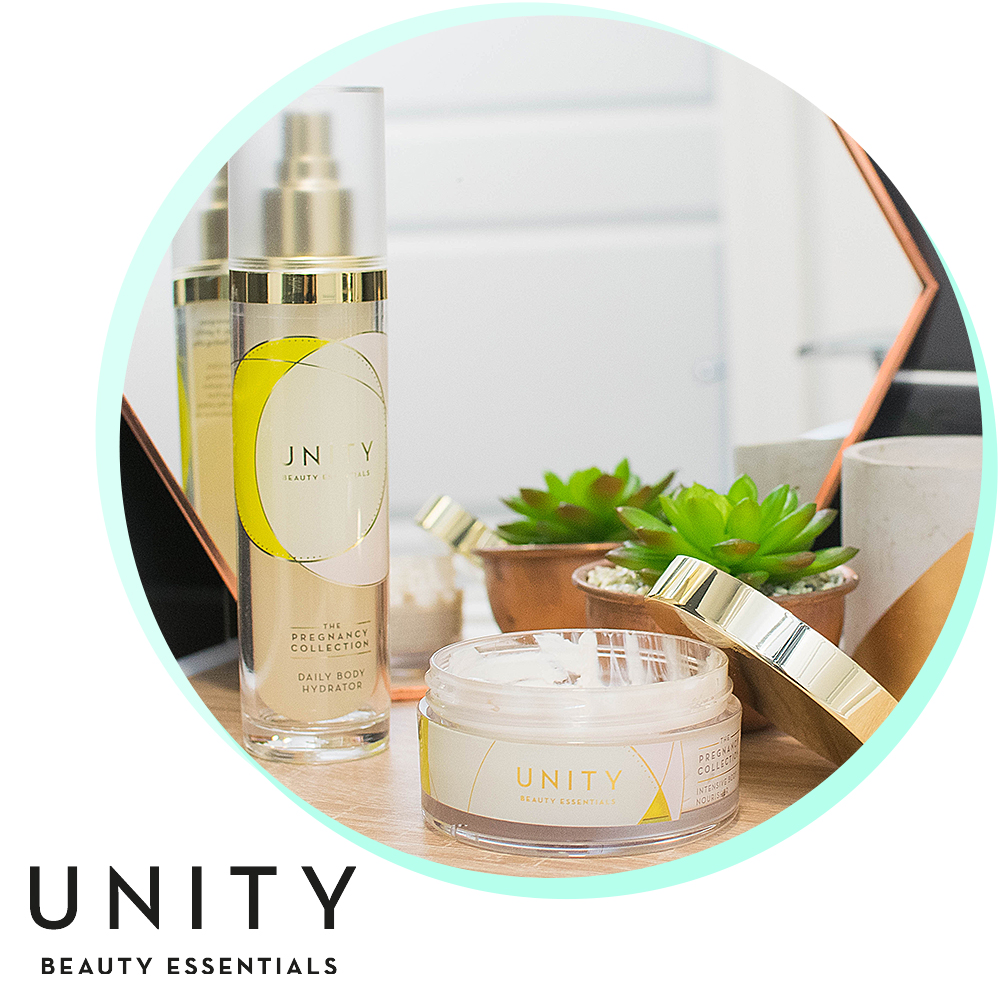 My pre+ post pregnancy skincare routine with UNITY Beauty!