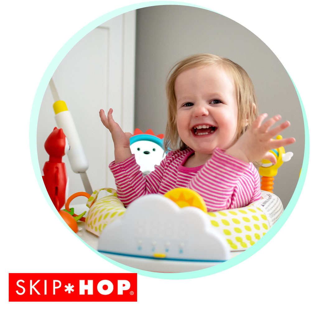 Jumping into June with the Skip Hop Jumpscape Foldaway Activity Jumper